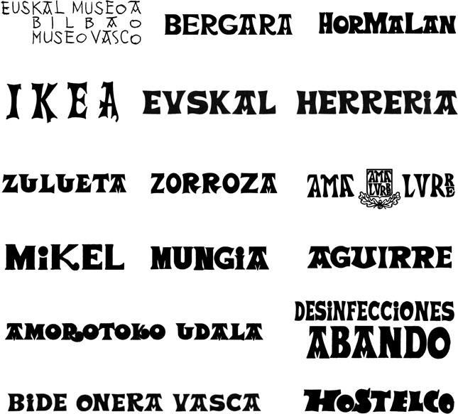 Grafía vasca