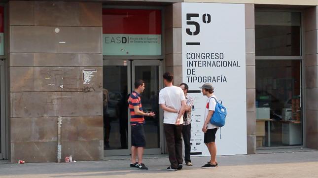 Avance del reportaje sobre el v congreso internacional de tipograf a - Easd valencia ...
