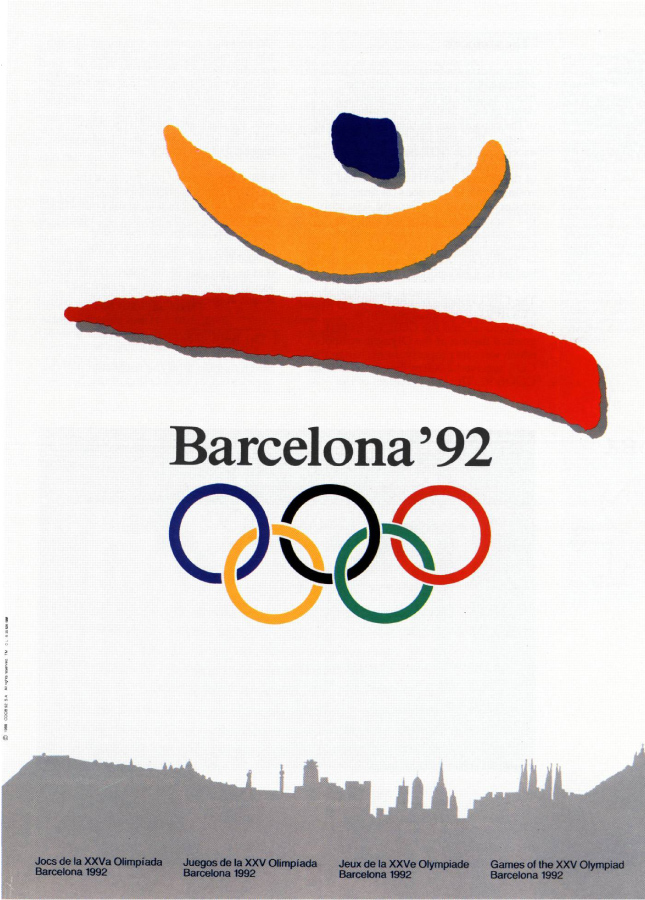 La Imagen Grafica De Barcelona 92 I Logotipos